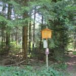 Eingang zum Brunnenholzried Bad Waldsee
