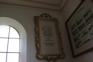 Guggenhauser Kapelle Bilder Aufbau