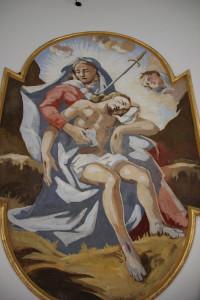 Guggenhauser-Kapelle-Deckengemälde