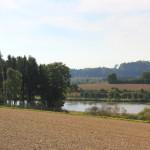 Guggenhauser Weiher Blick von der Kapelle