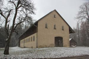 Gutshof-Gebäude-Burg-Königseggwald