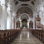 Innenraum Klosterkirche Weißenau