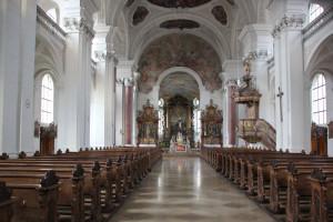 Innenraum-Klosterkirche-Weißenau
