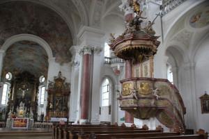 Kanzel Klosterkirche Weißenau