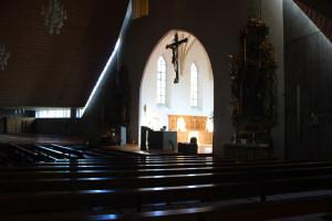 Querschiff Kirche St. Mater Eberhardzell