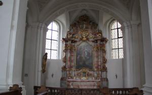 Seitenaltar Mariabildnis Klosterkirche Weißenau