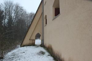 Stütze-und-Durchgang-Burg-Königseggwald
