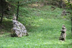 Steinfiguren Altdorfer Wald