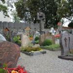 Friedhof der Kirche Alttann