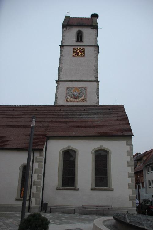 Kirchenturm Mengen