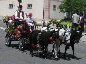 Kutschenfahrt Kinderfest Altshausen