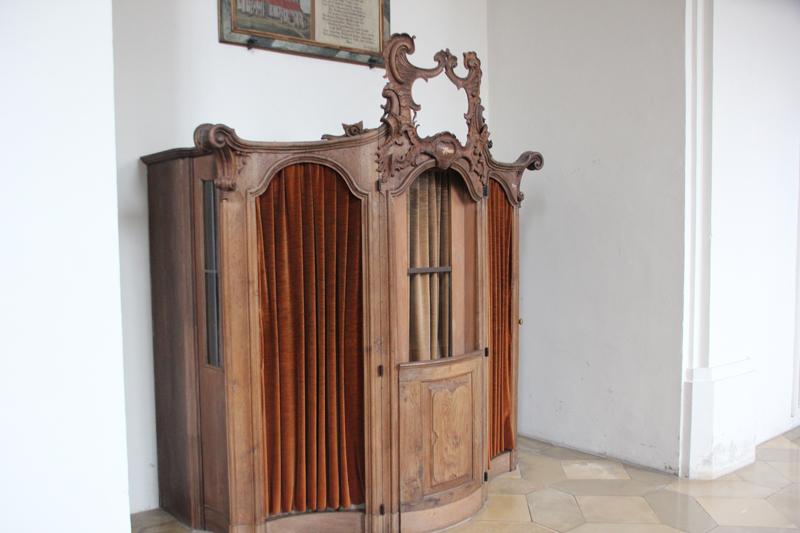 Beichtstuhl Kirche Biberach