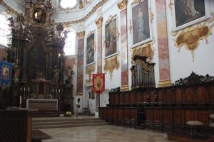 Chorgestühl Kirche Biberach