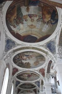Deckengemälde Kirche Biberach