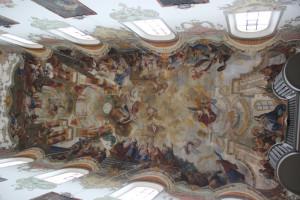 Deckengemälde-Leben-Jesu-Biberacher-Kirche