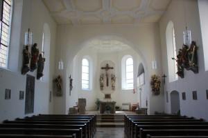 Altarraum Kirche St Andreas Untermarchtal