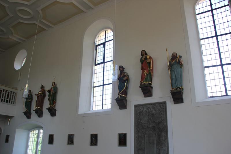 Barocke Figuren Untermarchtal