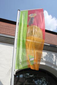 Flagge Keltenmuseum Hundersingen
