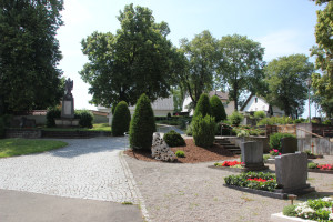 Friedhof Kirche St Andreas Untermarchtal