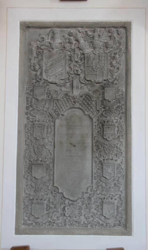 Gedenktafel Untermarchtal St Andreas