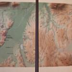 Karte im Keltenmuseum Hundersingen