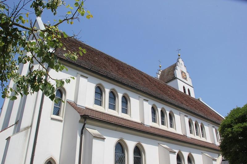 Langhaus Kirche St. Pankratius in Ostrach