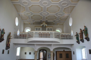 Orgel Kirche St Andreas Untermarchtal