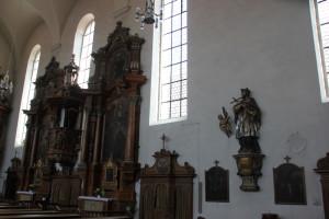 07 Altar und Figur Liebfrauenkirche Ehingen Donau