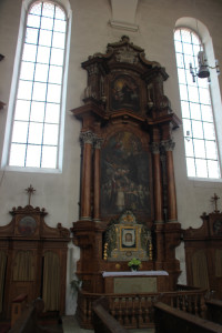 08 Seitenaltar Liebfrauenkirche Ehingen Donau