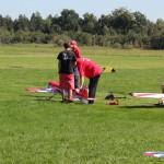 08 Start eines Modellflugzeugs