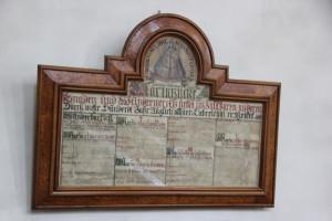 13 Gedenktafel Liebfrauenkirche Ehingen Donau