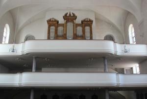 13 Orgel und Galerie Liebfrauenkirche Ehingen Donau