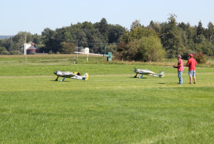 14 Modell WK2 Flieger