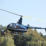 40 Hubschrauberflug