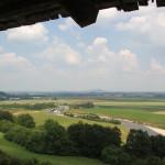 50 Blick auf Donautal Heuneburg Wehrgang