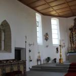 Altarraum Eintürnen Berg Kirche