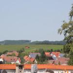 Ausblick von Eintürnen Berg Kirche