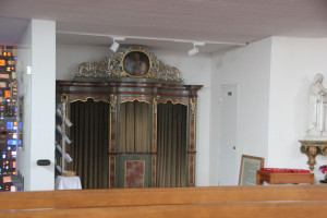 Beichtstuhl Eintürnen Berg Kirche
