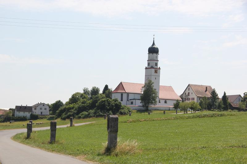 Eintürnen Berg Kirche Kreuzigungsweg