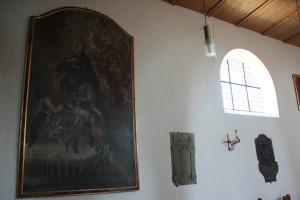 Gedenktafeln-und-Gemälde-Eintürnen-Berg-Kirche