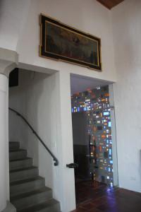 Gemälde-Eintürnen-Berg-Kirche