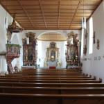 Innenraum Eintürnen Berg Kirche
