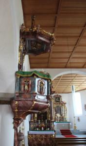 Kanzel-Eintürnen-Berg-Kirche