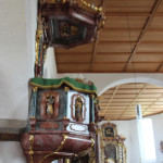 Kanzel Eintürnen Berg Kirche