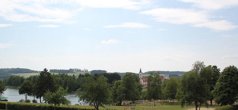 Liegewiese Seebad Illmensee