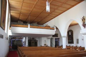 Orgel-Eintürnen-Berg-Kirche