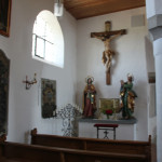 Seitenaltar Eintürnen Berg Kirche