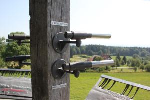 24 Rote Wand & Widderstein Ausguckrohren