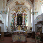 Altarraum Kißlegg Kirche