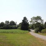 Blick auf Kirche Unteressendorf